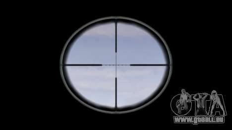 Machine M4 Devgru cible pour GTA 4 troisième écran