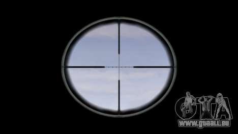 Fusil automatique de cible Ak5C pour GTA 4 troisième écran