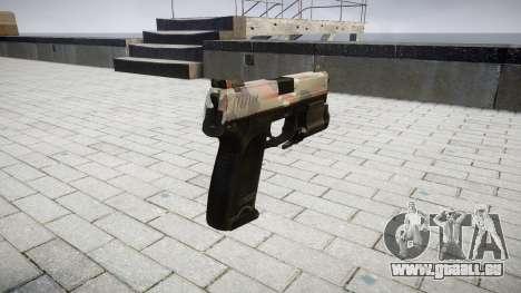 Pistole HK USP 45 berlin für GTA 4 Sekunden Bildschirm