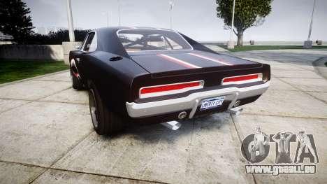 Dodge Charger RT 1970 Shark für GTA 4 hinten links Ansicht