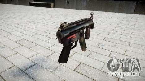 Pistolet MP5K pour GTA 4 secondes d'écran