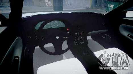 Nissan 240SX 1994 [EPM] pour GTA 4 est une vue de l'intérieur