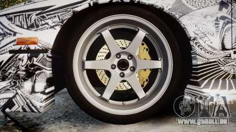 Nissan 240SX SE S13 1993 Sharpie für GTA 4 Rückansicht