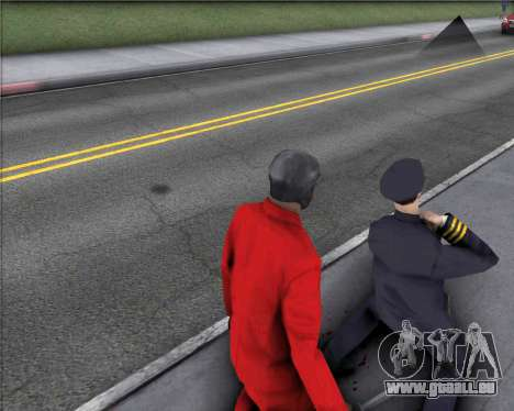 TF2 Spy Butterfly Knife für GTA San Andreas dritten Screenshot