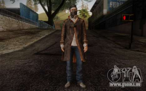 Aiden Pearce from Watch Dogs v6 für GTA San Andreas