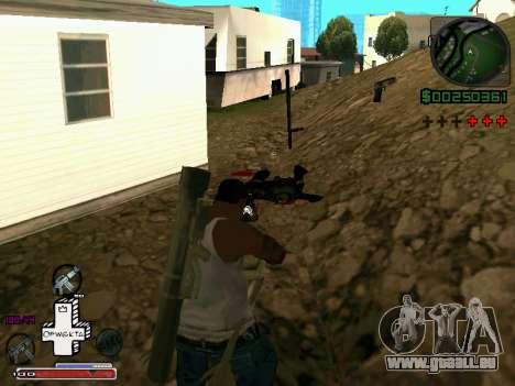 C-HUD Optiwka pour GTA San Andreas troisième écran