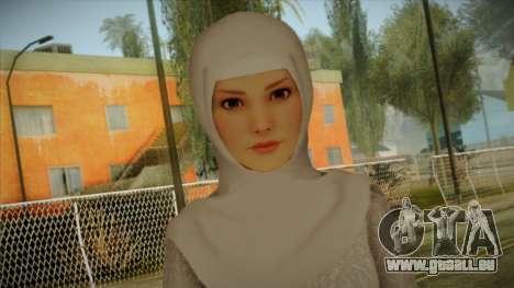 Kebaya Girl Skin v2 pour GTA San Andreas troisième écran