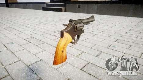 Revolver Smith & Wesson pour GTA 4 secondes d'écran