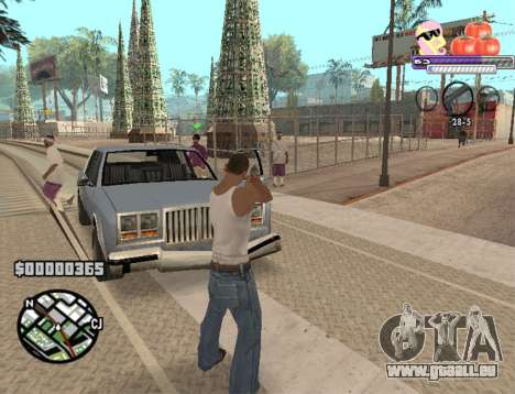C-HUD Pony and Pomidors für GTA San Andreas