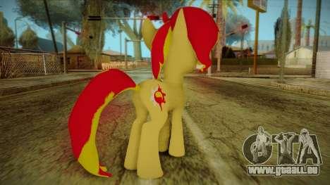 Summer Shimmer from My Little Pony für GTA San Andreas zweiten Screenshot