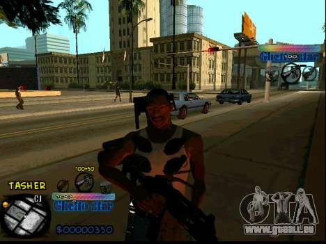 C-HUD Ghetto Star für GTA San Andreas