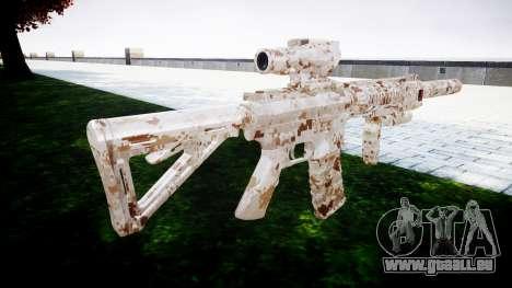 Machine M4 Devgru pour GTA 4 secondes d'écran