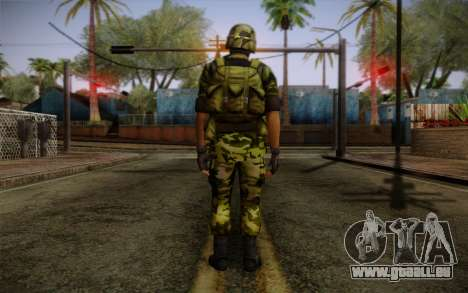 Hecu Soldiers 4 from Half-Life 2 pour GTA San Andreas deuxième écran