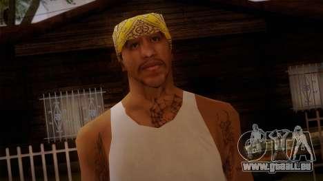 Fresno Buldogs 14 Skin 2 pour GTA San Andreas troisième écran