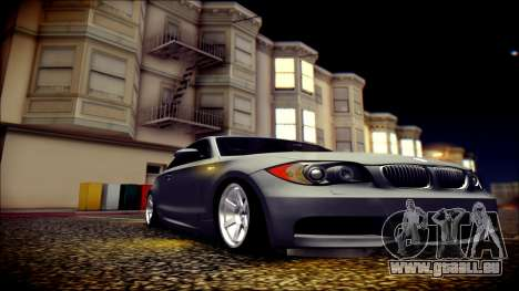 BMW 135i für GTA San Andreas Seitenansicht
