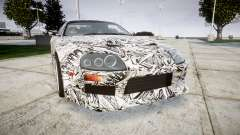 Toyota Supra 1998 Sharpie pour GTA 4