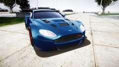 Aston Martin V12 Vantage GT3 2012 pour GTA 4
