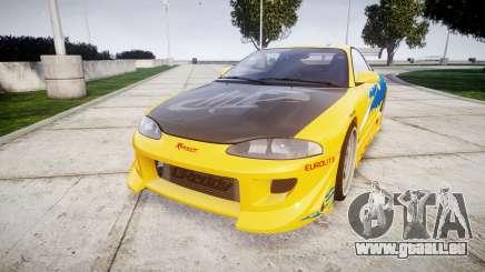 Mitsubishi Eclipse GSX 1995 pour GTA 4