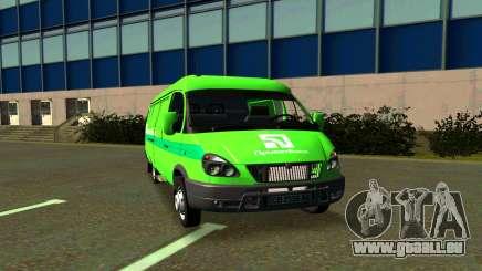 GAZelle 2705 PrivatBank für GTA San Andreas