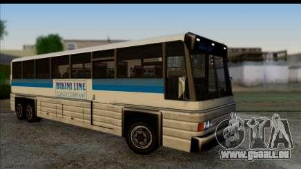 Entraîneur d'intérieur 3D pour GTA San Andreas