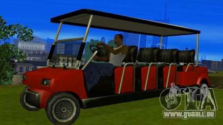 Caddy Restyle pour GTA San Andreas