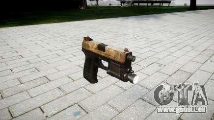 Pistole HK USP 45 dusty für GTA 4
