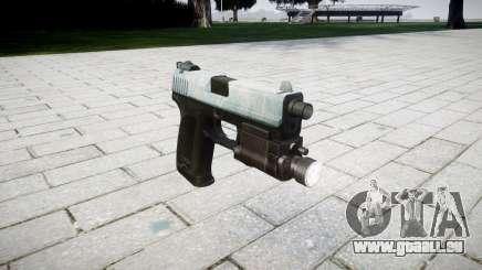 Pistole HK USP 45 eisigen für GTA 4