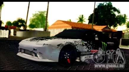 Nissan 180SX Monster Energy Spoiler für GTA San Andreas