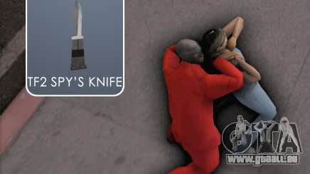 TF2 Spy Butterfly Knife für GTA San Andreas