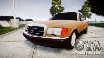 Mercedes-Benz 560SEL W126 pour GTA 4