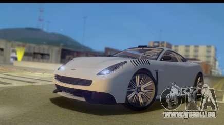 GTA 5 Dewbauchee Massacro IVF für GTA San Andreas
