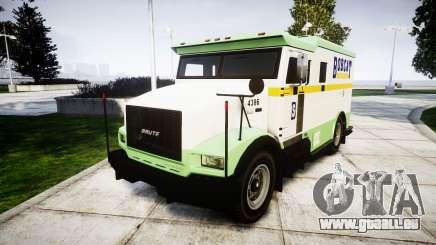 GTA V Brute Securicar für GTA 4