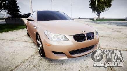 BMW M5 E60 v2.0 Wald rims pour GTA 4