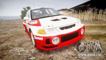 Mitsubishi Lancer Evolution VI Rally Edition pour GTA 4