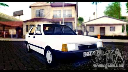 Tofas Dogan 90 Model pour GTA San Andreas