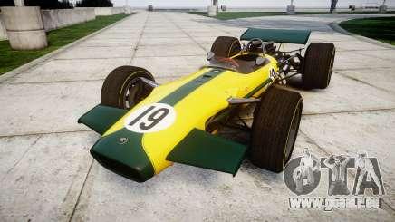 Lotus Type 49 1967 [RIV] PJ19-20 pour GTA 4