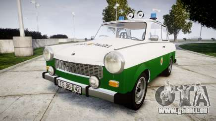 Trabant 601 deluxe 1981 Police pour GTA 4