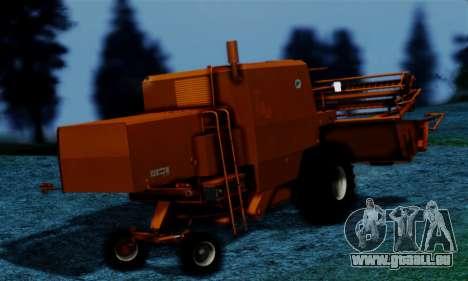 FMZ BIZON Super Z056 1985 Orange pour GTA San Andreas laissé vue