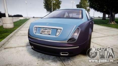 Enus Cognoscenti VIP pour GTA 4 Vue arrière de la gauche