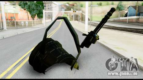 Raven Vulcan Gun from Metal Gear Solid pour GTA San Andreas deuxième écran