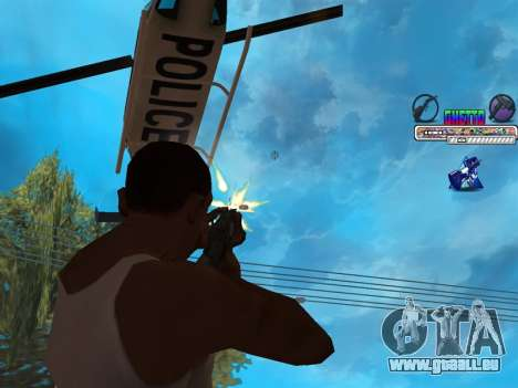 C-HUD Ghetto pour GTA San Andreas
