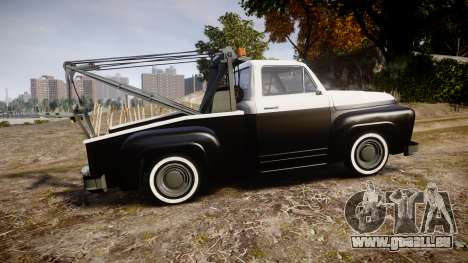 Vapid Towtruck Restored striped tires pour GTA 4