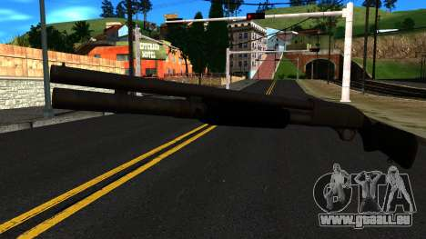 Schwarz MP-133 Ohne Glanz für GTA San Andreas