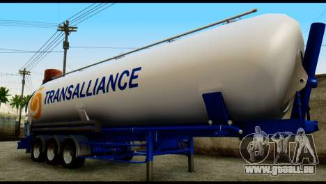 Mercedes-Benz Actros Trailer Transalliance pour GTA San Andreas