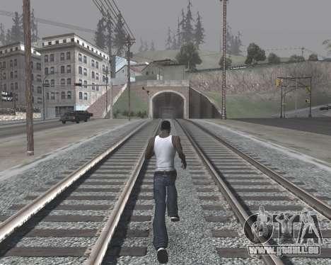 Colormod High Black pour GTA San Andreas cinquième écran