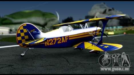 Alabeo PITTS S2S Blue für GTA San Andreas linke Ansicht