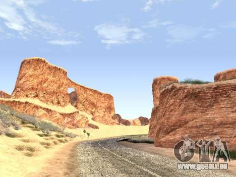 Real California Timecyc für GTA San Andreas her Screenshot