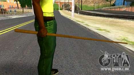Poolcue from GTA 4 pour GTA San Andreas troisième écran
