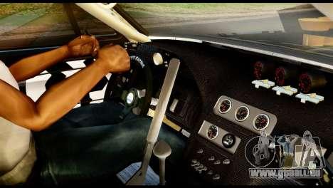 Ford Mustang 1965 Ken Block pour GTA San Andreas sur la vue arrière gauche