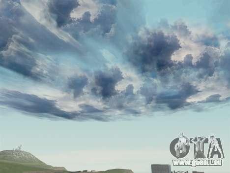 Realistische Himmel für GTA San Andreas